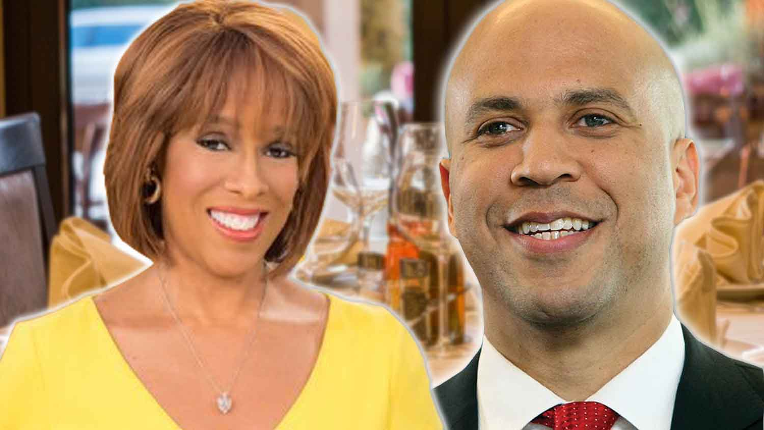 Cory Booker Just Convinced Gayle King to 'Go Vegan'