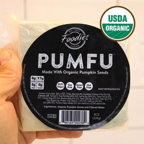 'Pumfu' Tofu Is Made Entirely Out of Pumpkin Seeds