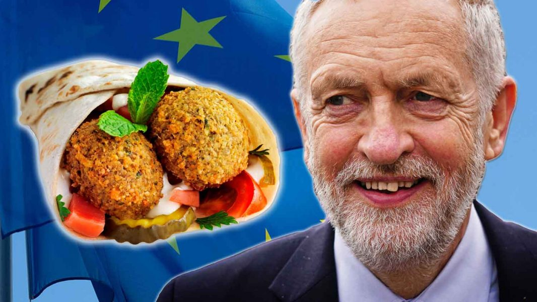 Jeremy Corbyn Hates Brexit But Loves Vegan Falafels
