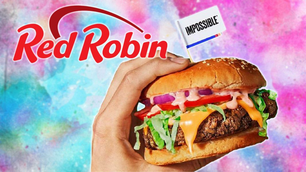 The Vegan Impossible Burger Now at 570 Red Robin Locations