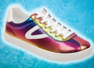 Nordstrom Is Now Selling Vegan Rainbow Tretorn Sneakers
