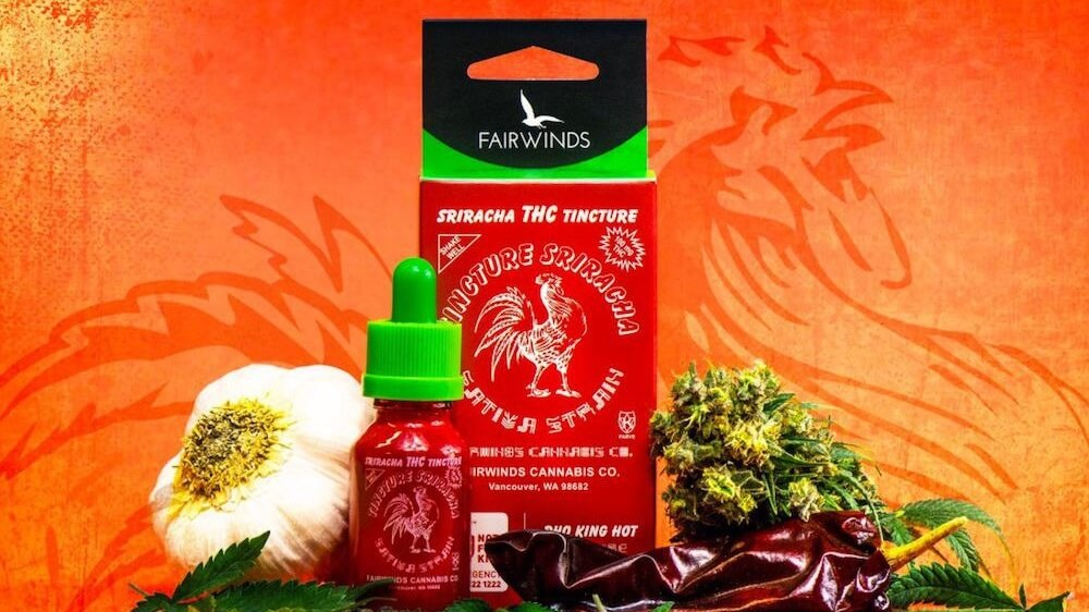 Vegan Cannabis THC Infused Sriracha Is a Thing