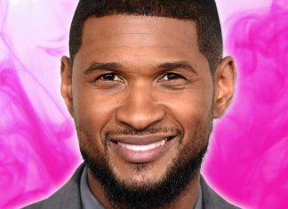 Usher tried Slutty Vegan burgers