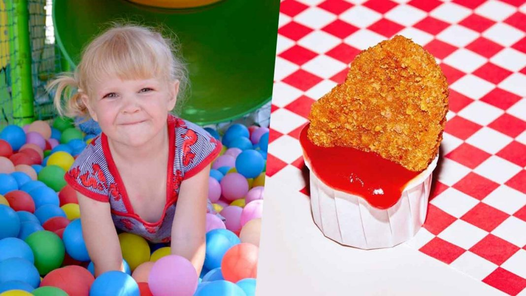 Popular Indoor Playgrounds Now Serve Vegan Nuggets and Burgers
