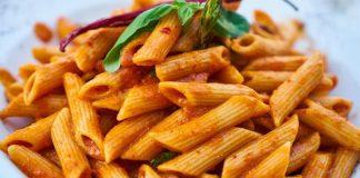 Creamy Tomato Pasta With Vegan Parmesan and Vodka