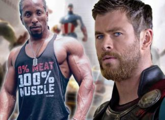 Chris Hemsworth Trained With Vegan Bodybuilder for Avengers 'Endgame'