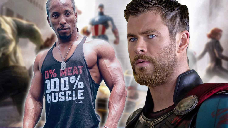 'Avengers: Endgame' Star Chris Hemsworth Trains With Vegan Bodybuilder
