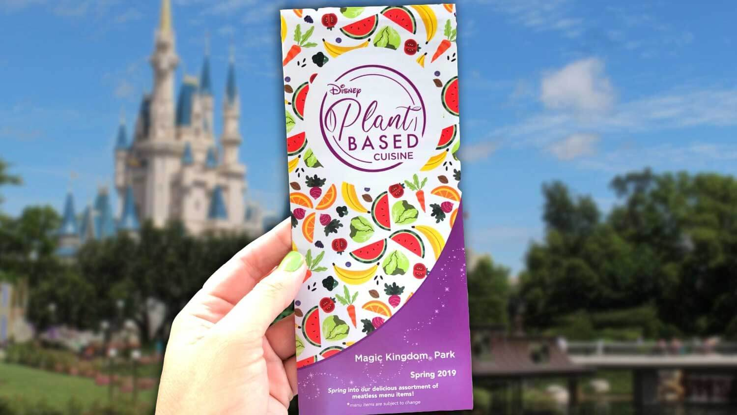 Disney Now Has a Vegan Visitor's Guide