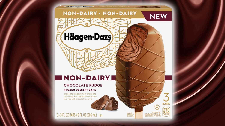 Häagen-Dazs' New Vegan Chocolate Fudge Ice Cream Bars Are Here