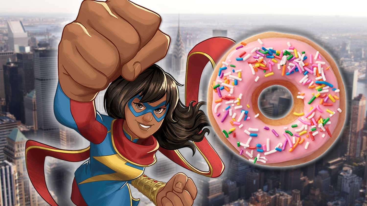 There's Now a Vegan Donut Shop In the Marvel Universe
