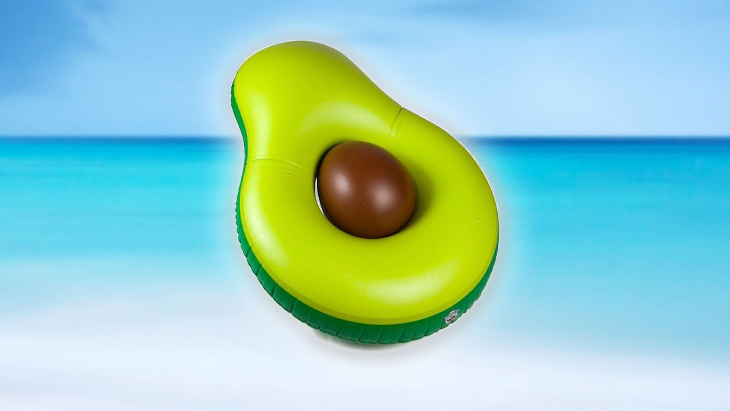 There's an Inflatable Avocado Raft Now Because Vegans