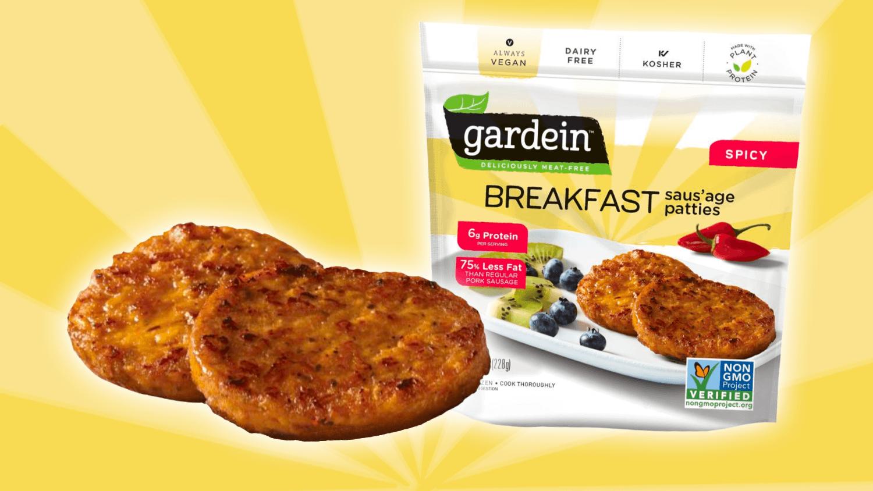 Gardein Just Launched Meaty Vegan Breakfast Sausages