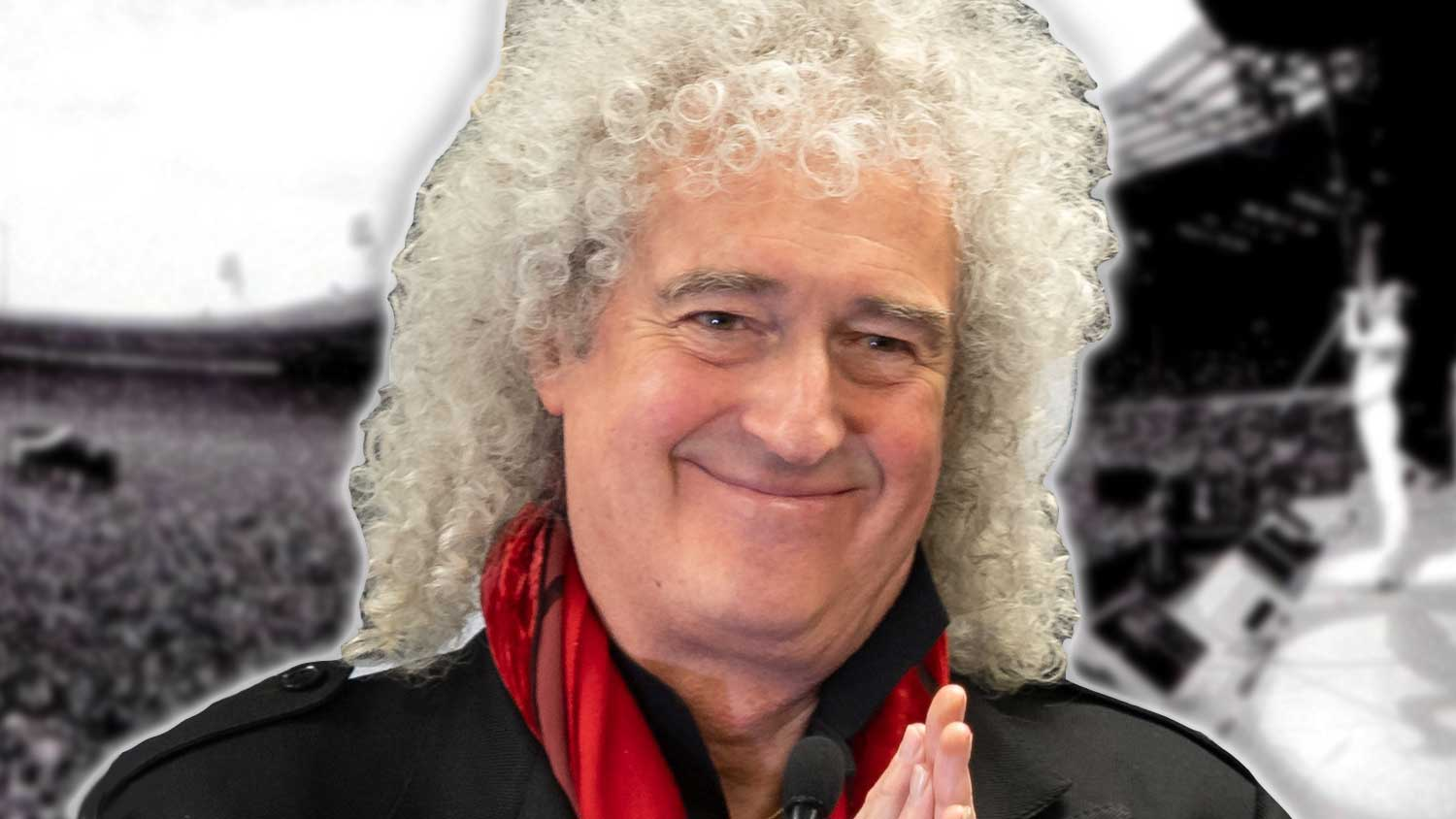 Queen's Brian May Urges Fans to Support Vegan Businesses