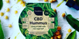 CBD Hummus Is the Vegan Snack You Need