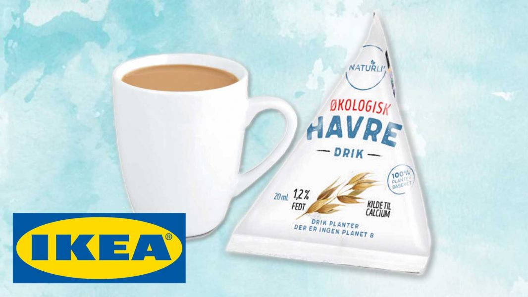 IKEA Launches Vegan Oat Milk for Coffee