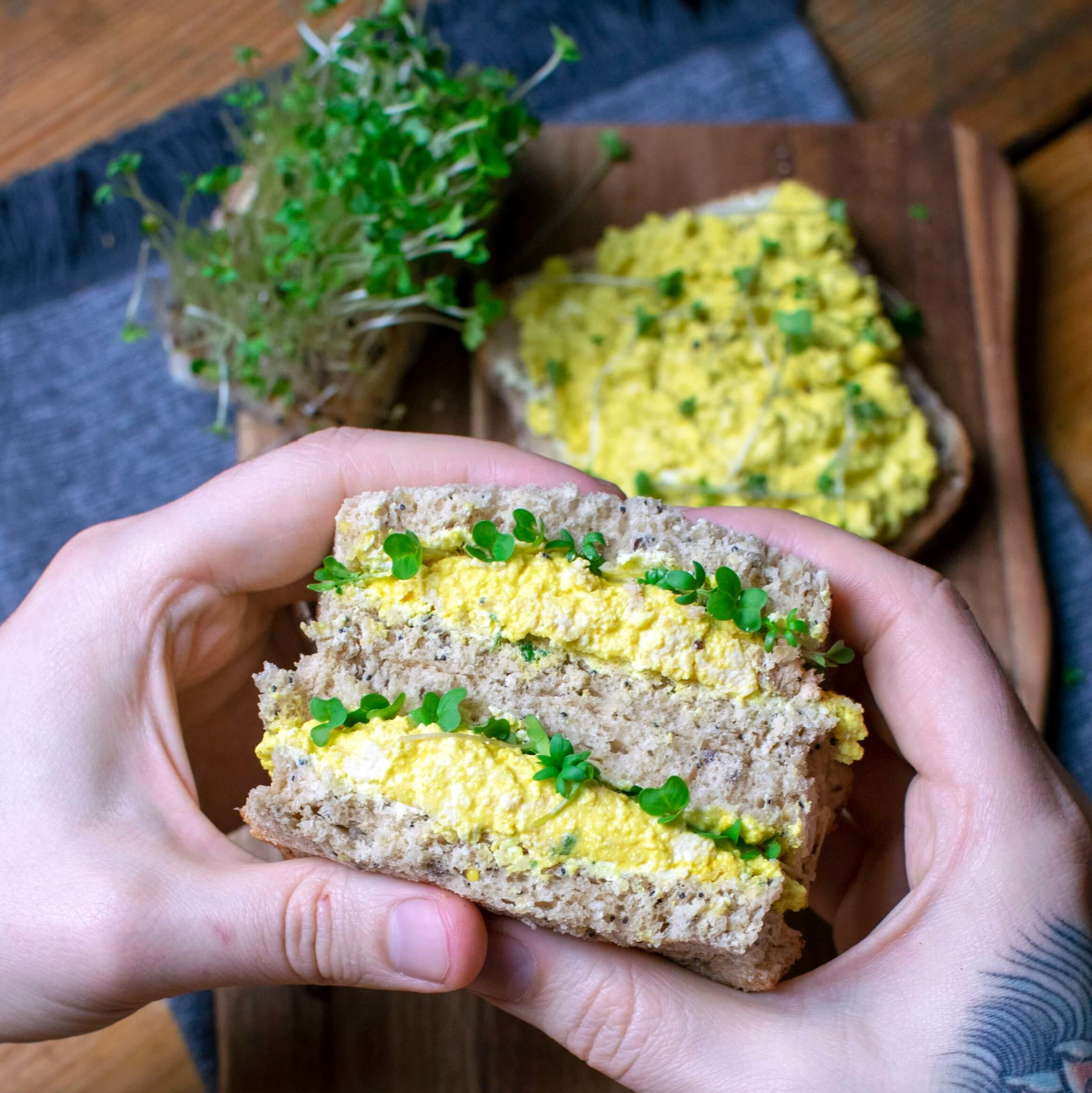 Who Needs Eggs When This Vegan Tofu Salad Exists?