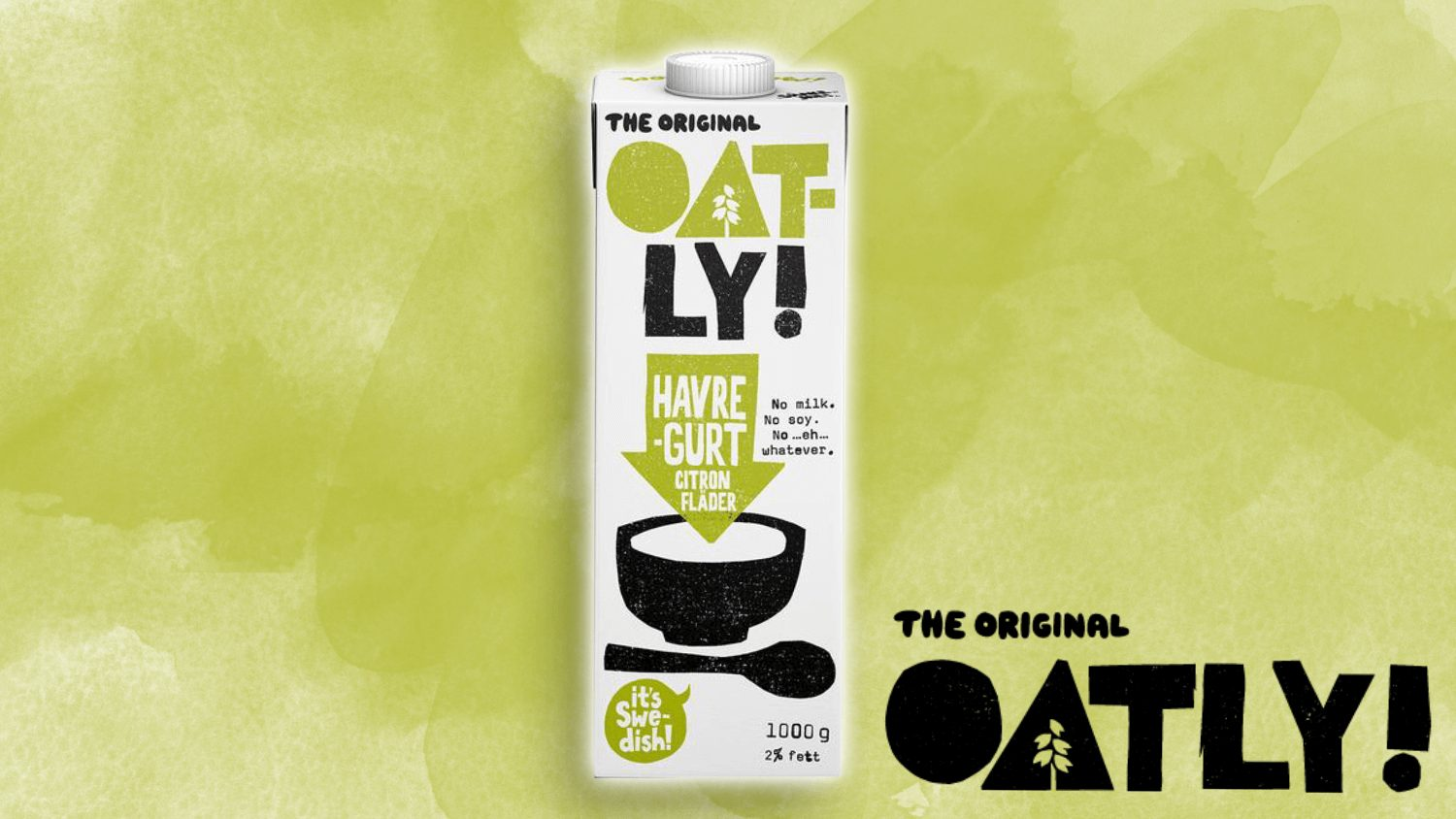 Oatly Launches Dairy-Free Drinkable Yogurt Made From Oats