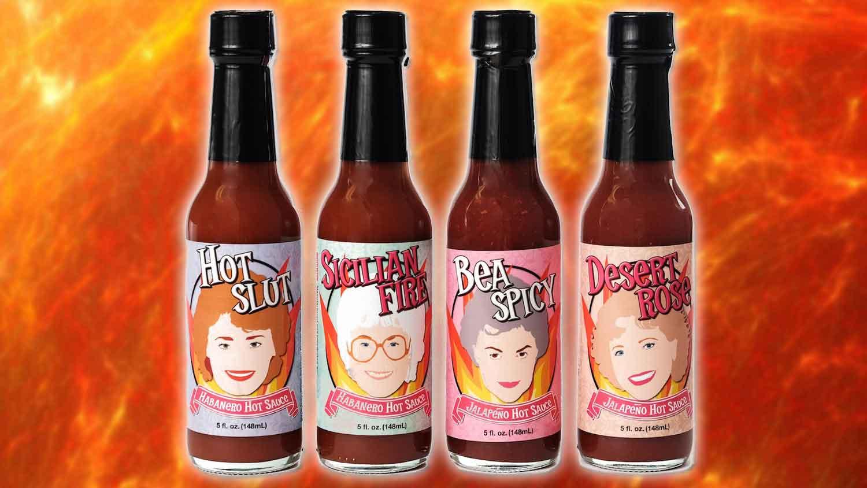 You Can Now Get Vegan Golden Girls Hot Sauce