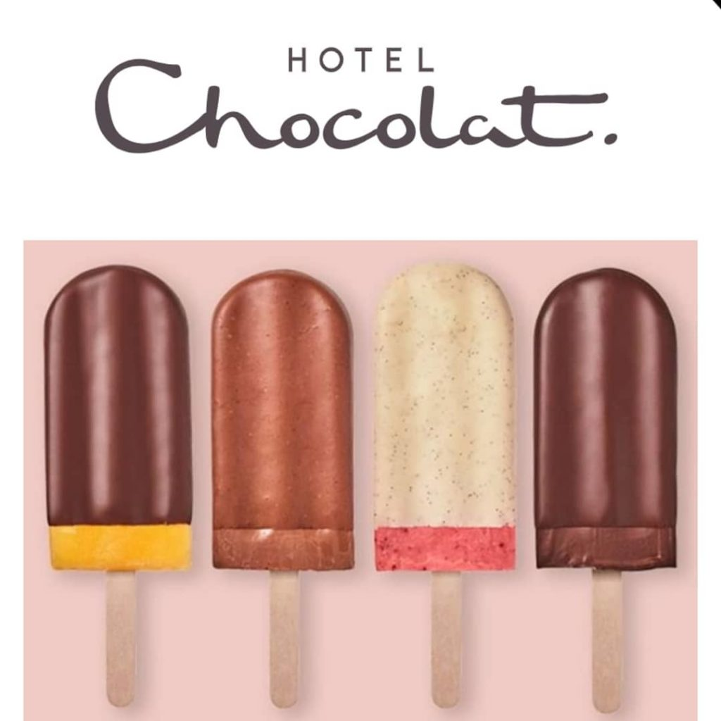 Hotel Chocolat Just Launched Vegan Ice Lollies