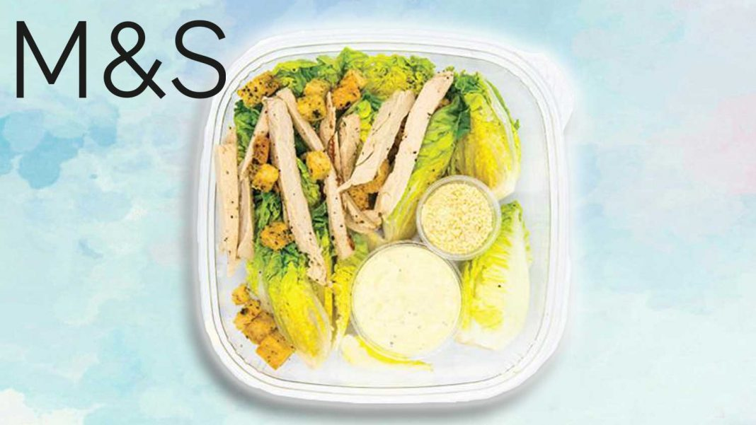 Vegan Chicken Caesar Salad Launches At Marks And Spencer