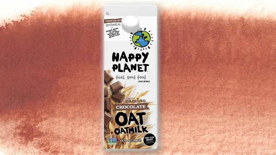 Happy Planet Just Launched Vegan Chocolate Oat Milk