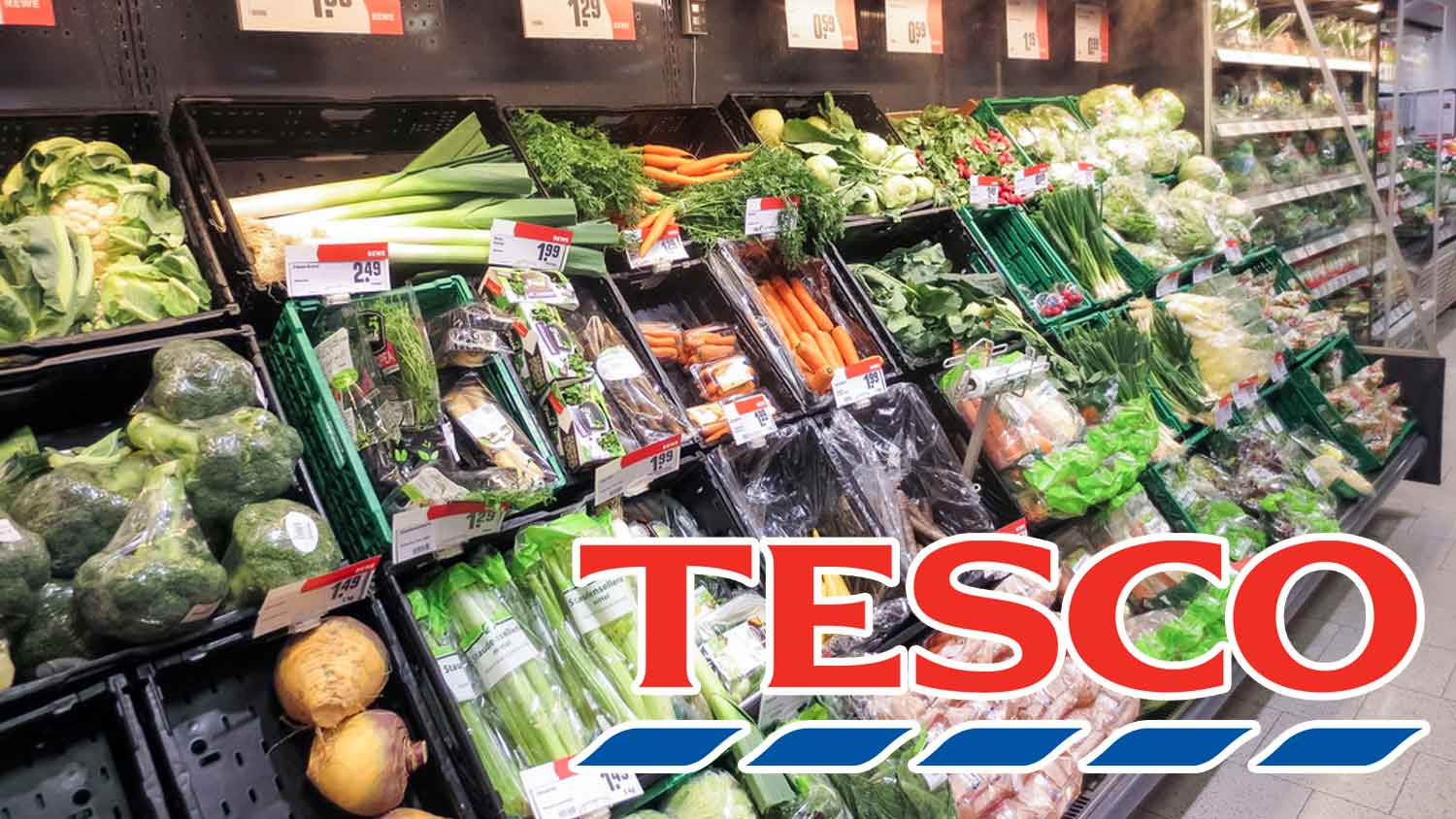 Tesco Is Removing Plastic From Its Fruit and Vegetables