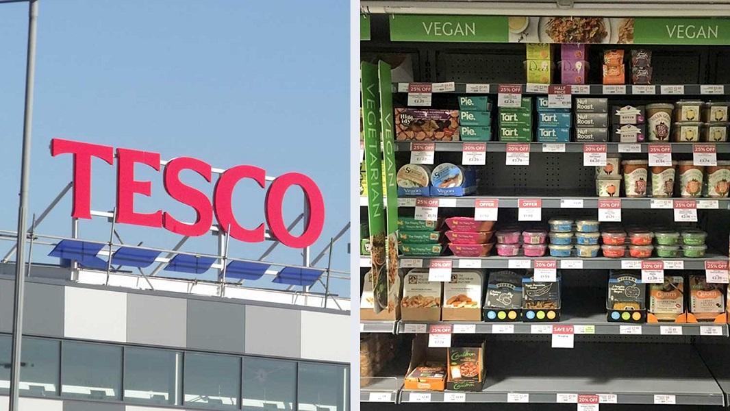 Tesco Now Has Dedicated Vegan Food Aisles Vegan Insight