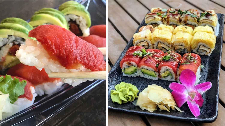 Get This Vegan Tuna Made From Tomatoes at Yuzu Sushi