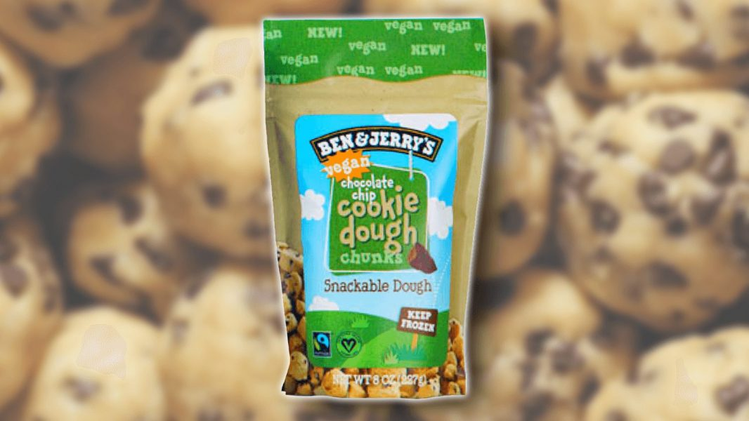 Vegan Snackable Ben & Jerry's Cookie Dough Pieces are Now a Thing