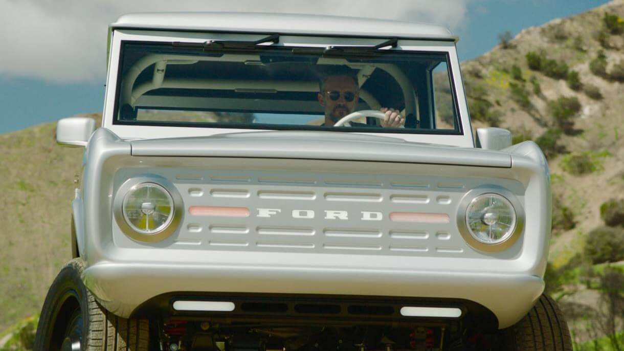 The World's First Electric Ford Bronco Is Vegan