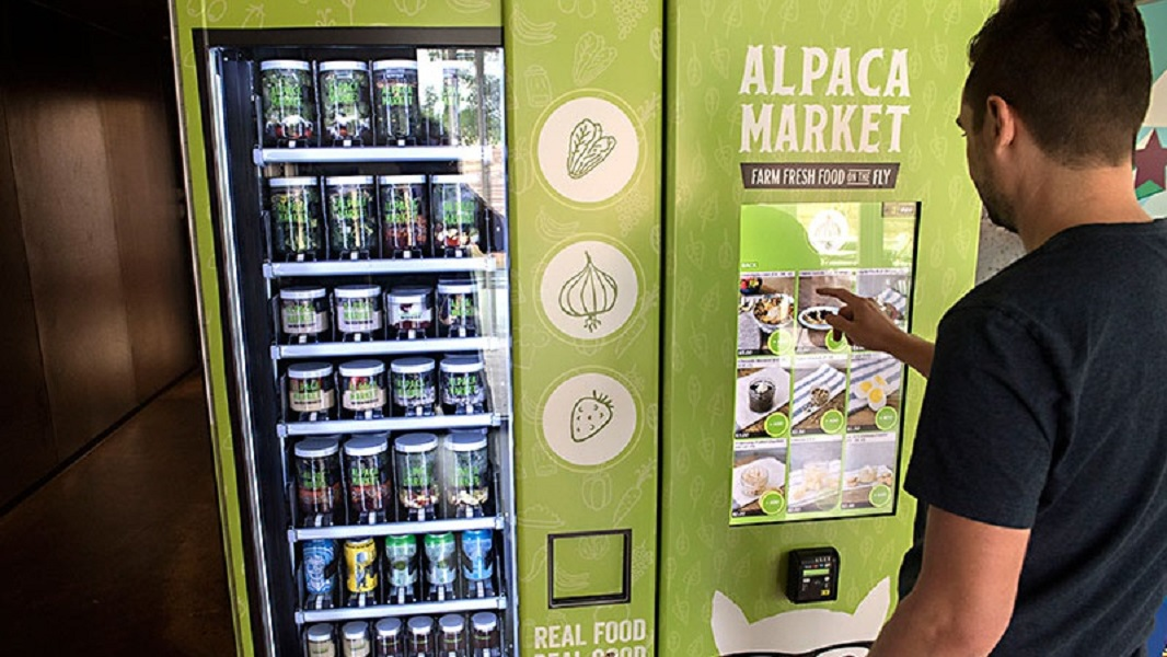 Vancouver Has Yet Another Vegan AF Vending Machine
