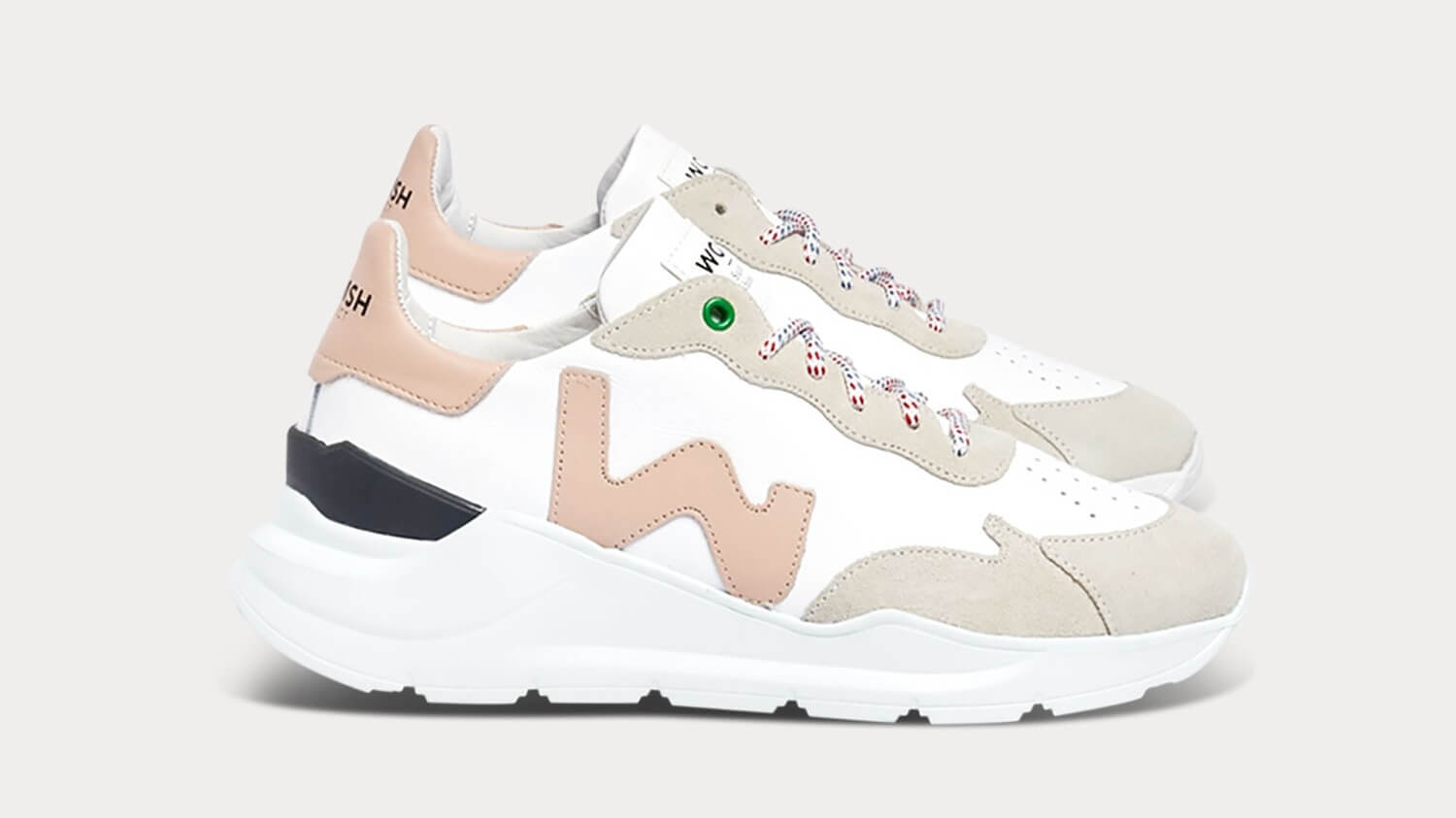 These Chunky 'Fila' Style Sneakers Are Made From Vegan Apple Leather