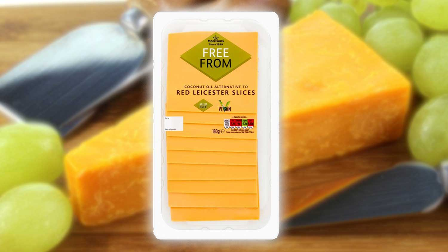 Vegan Red Leicester Cheese Slices Just Arrived at Morrisons