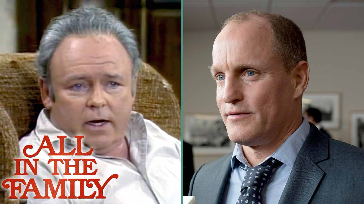 Woody Harrelson Gives 'All in the Family' a Vegan Archie Bunker