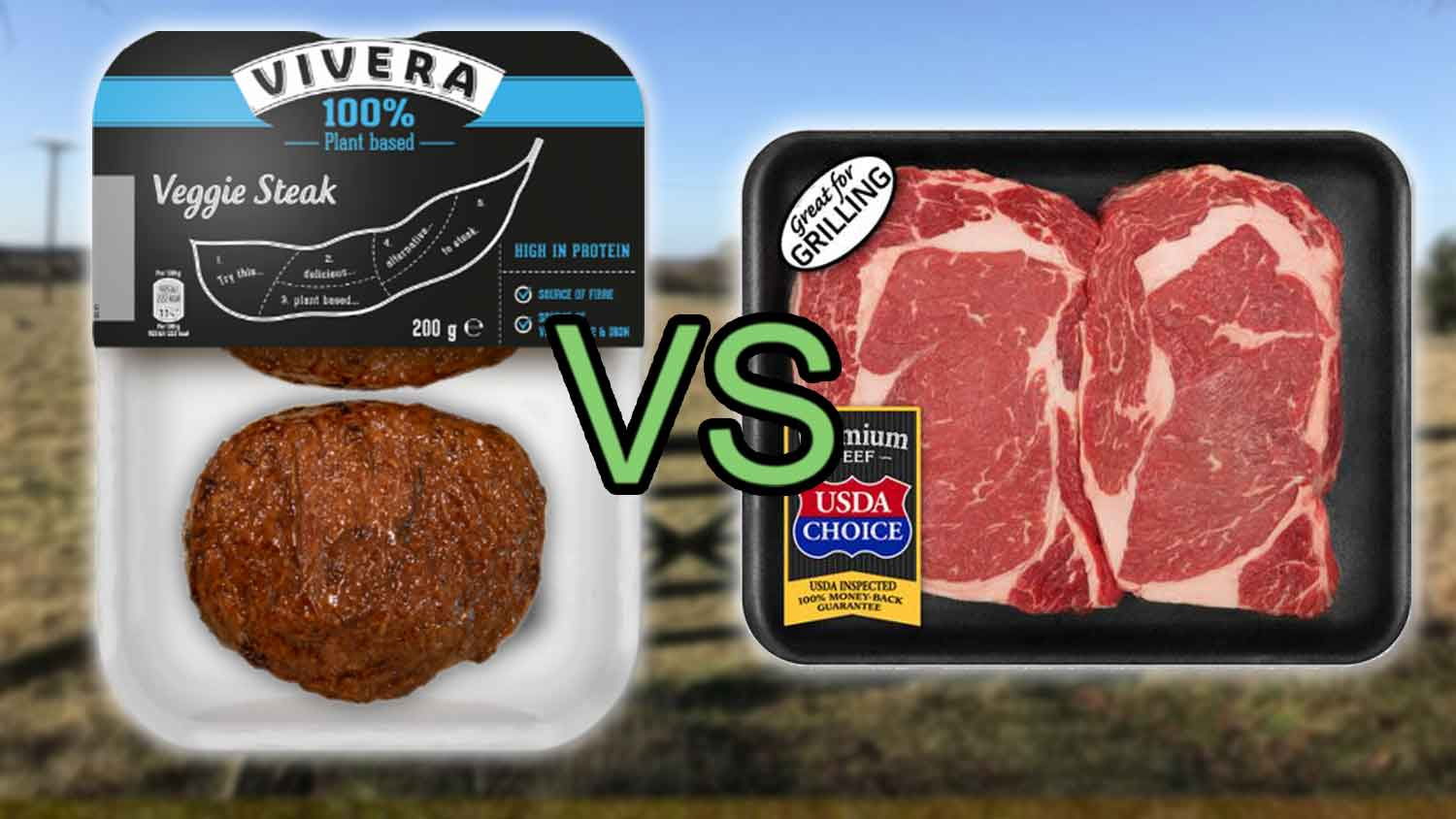This Is How Vegan Meat Compares to Animal Meat
