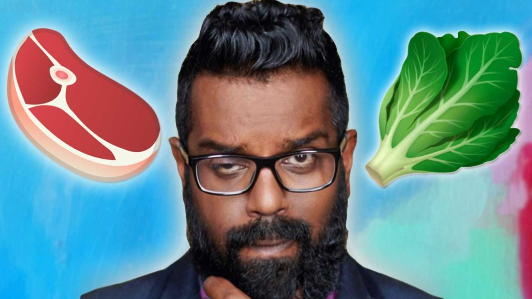 Romesh Ranganathan Explains Why People 'Hate' Vegans (Because They're Right)