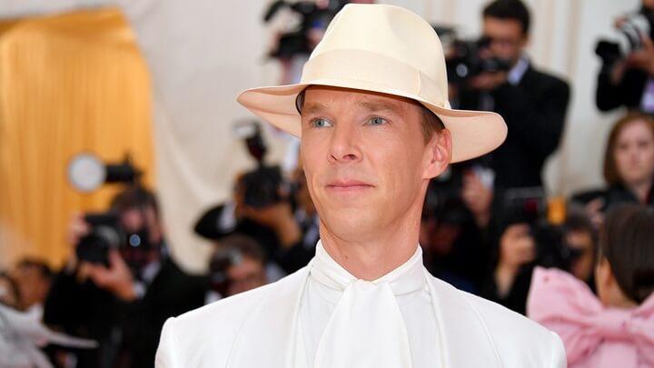 Benedict Cumberbatch Wore the Most Vegan Suit Ever at the Met Gala
