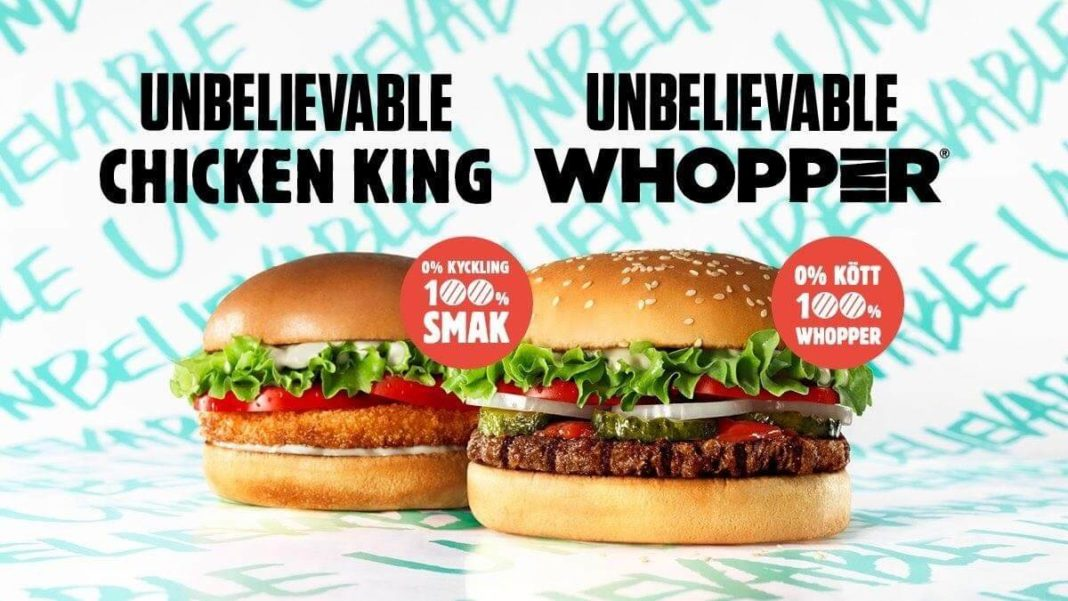 Burger King Now Has 'Unbelievable' Vegan Chicken and Whoppers