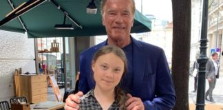 Arnold Schwarzenegger's Hero is Vegan Teen Greta Thunberg