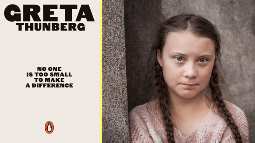 Greta Thunberg's Speeches to Be Published in New Book