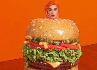 Katy Perry Just Turned Herself Into the Most Beautiful Vegan Burger at the Met Gala