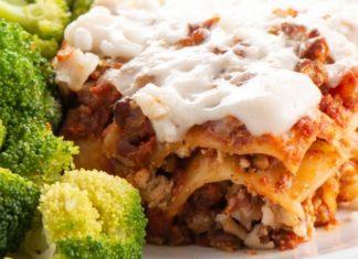 Cheesy Vegan Lasagna With a Creamy Beetroot Filling