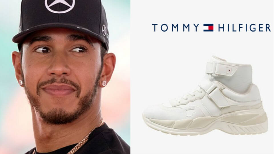 Lewis Hamilton Launches Vegan Sneaker Collection With Tommy Hilfiger