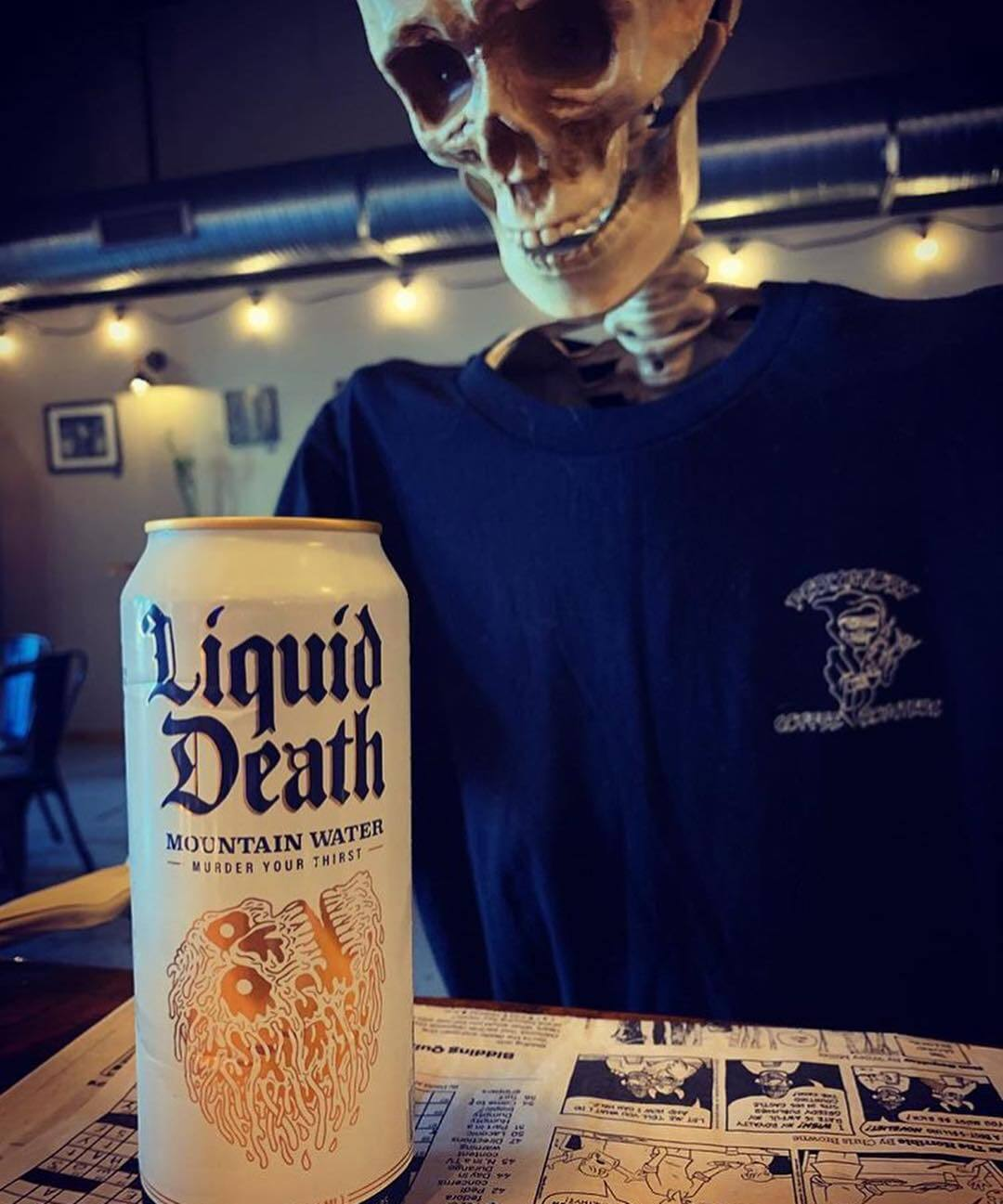 Liquid Death Is Sustainable Water For Straight-Edge Vegans