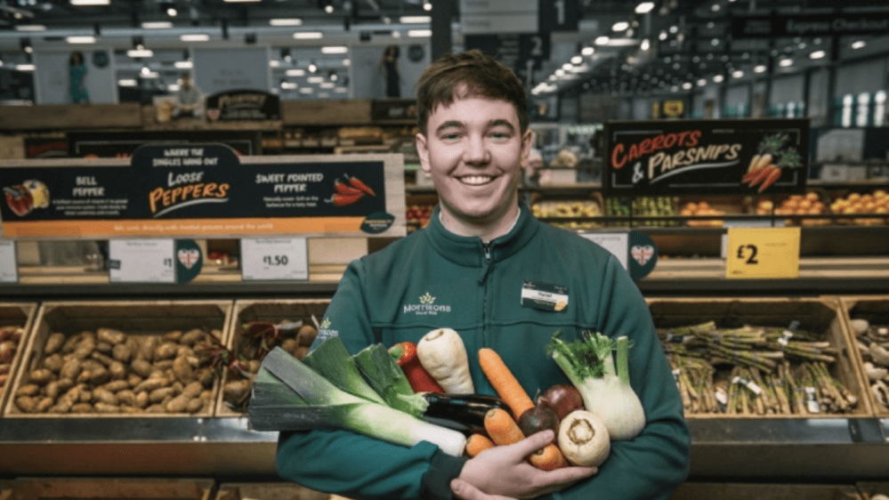 Morrisons' Fruit and Veg Sections to Go Plastic-Free