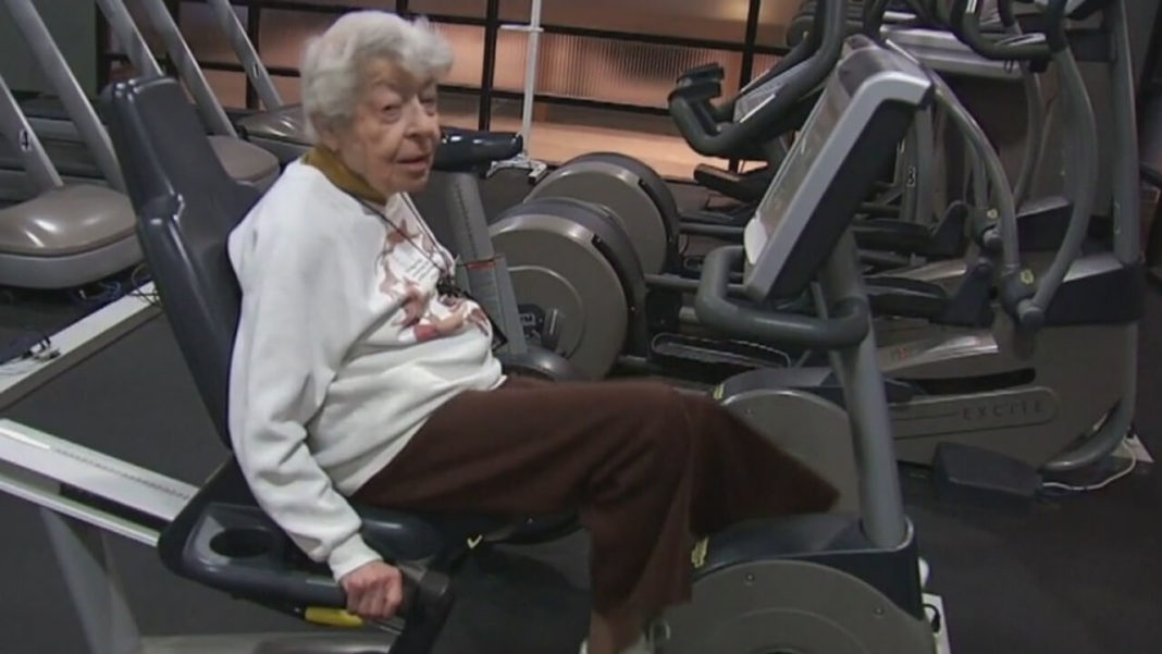 This 97-Year-Old Vegan Probably Goes to the Gym More Than You Do