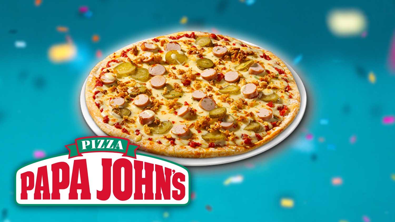 Papa John's Just Launched a Vegan Hot Dog Pizza