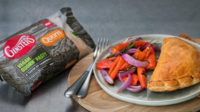 The Ginsters Vegan Cornish Pasty has Launched
