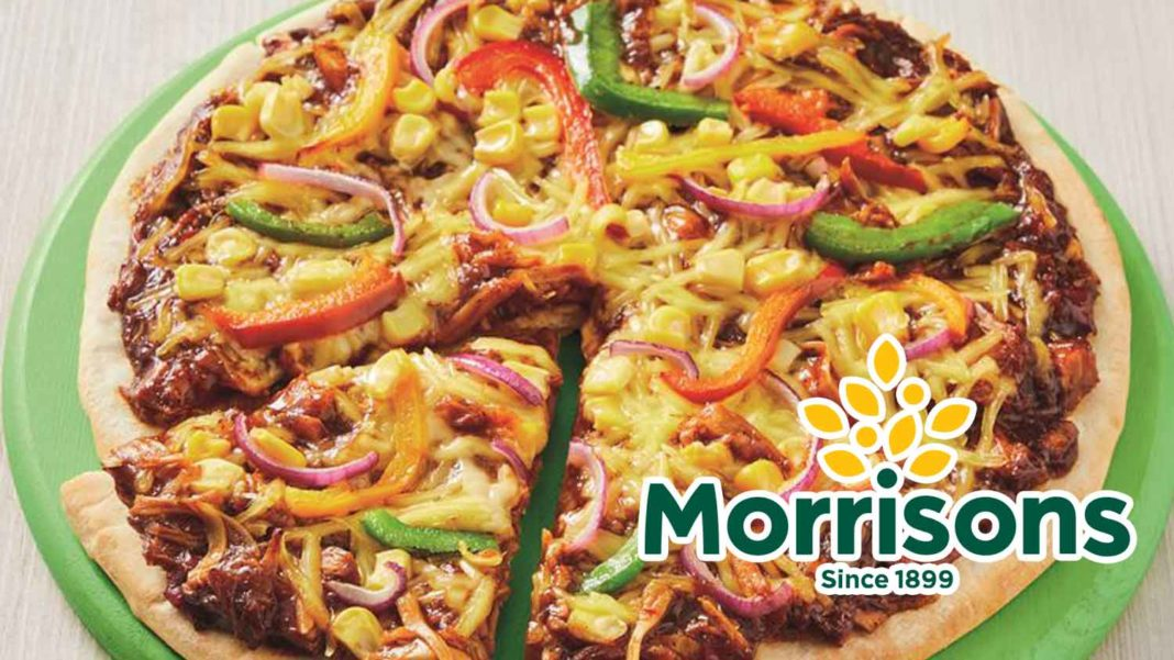 £4 BBQ Pulled Jackfruit Pizza Now at Morrisons