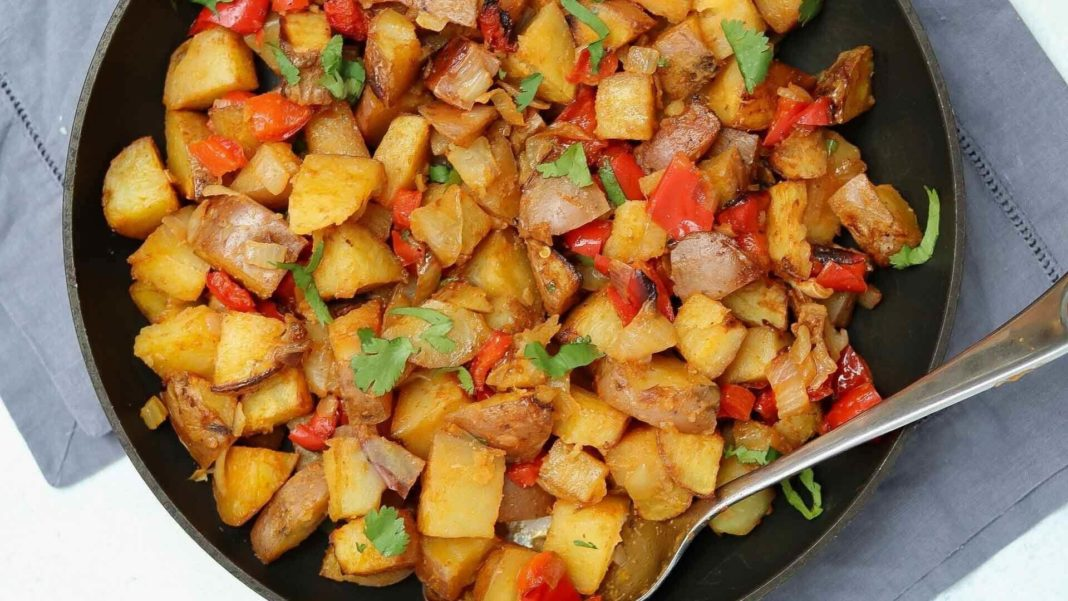 These Vegan Oven Roasted Breakfast Potatoes Cook Up In No Time